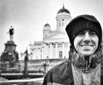 Obligatory photo in front of the Helsinki Cathedral.